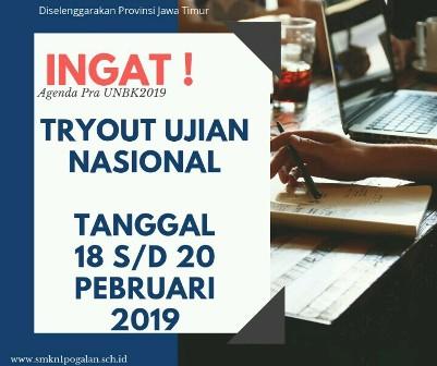 TryOut Bersama Ujian Nasional 2019