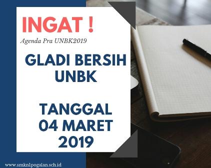 Gladi Bersi UNBK 2019